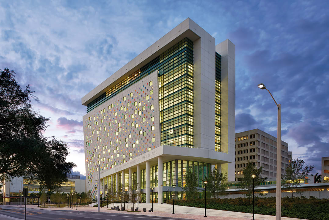 2016 Justice Facilities Review: Miami-Dade Children's Courthouse