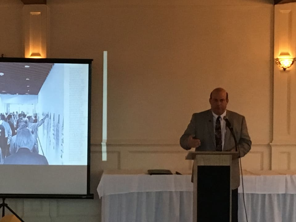 Bruce giving Presentation at AIA South Jersey and AIA Jersey Shore joint member meeting