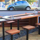 Bamboo Sushi Street Seat