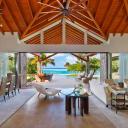 The Seashell Beach Villa in Oil Nut Bay