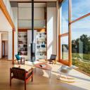 Pennsylvania Farmhouse - open blinds