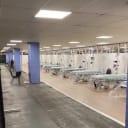 Vanderbilt University Medical Center transformed a parking garage for COVID-19 response