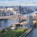 The House at Cornell Tech drone image