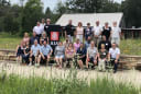 AIA Wisconsin Leaders pose for group photo at the Aldo Leopold Foundation in Baraboo