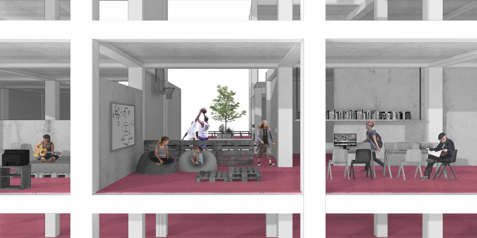 Homeless Shelter reTypology AIA