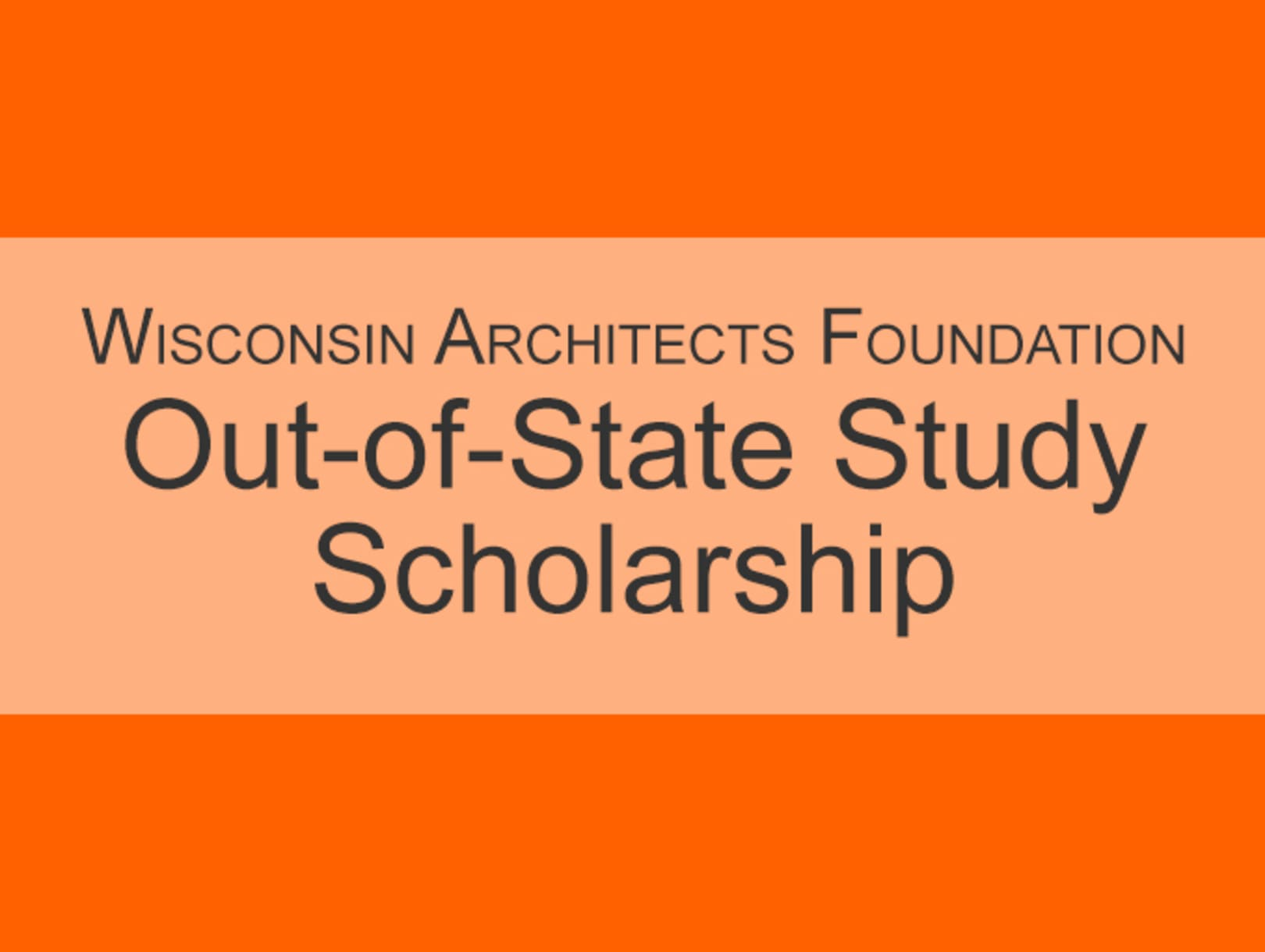 WAF Out-of-State Study Scholarship