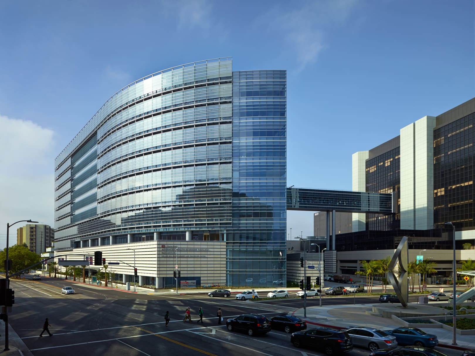 Cedars Sinai Advanced Health Sciences Pavilion building