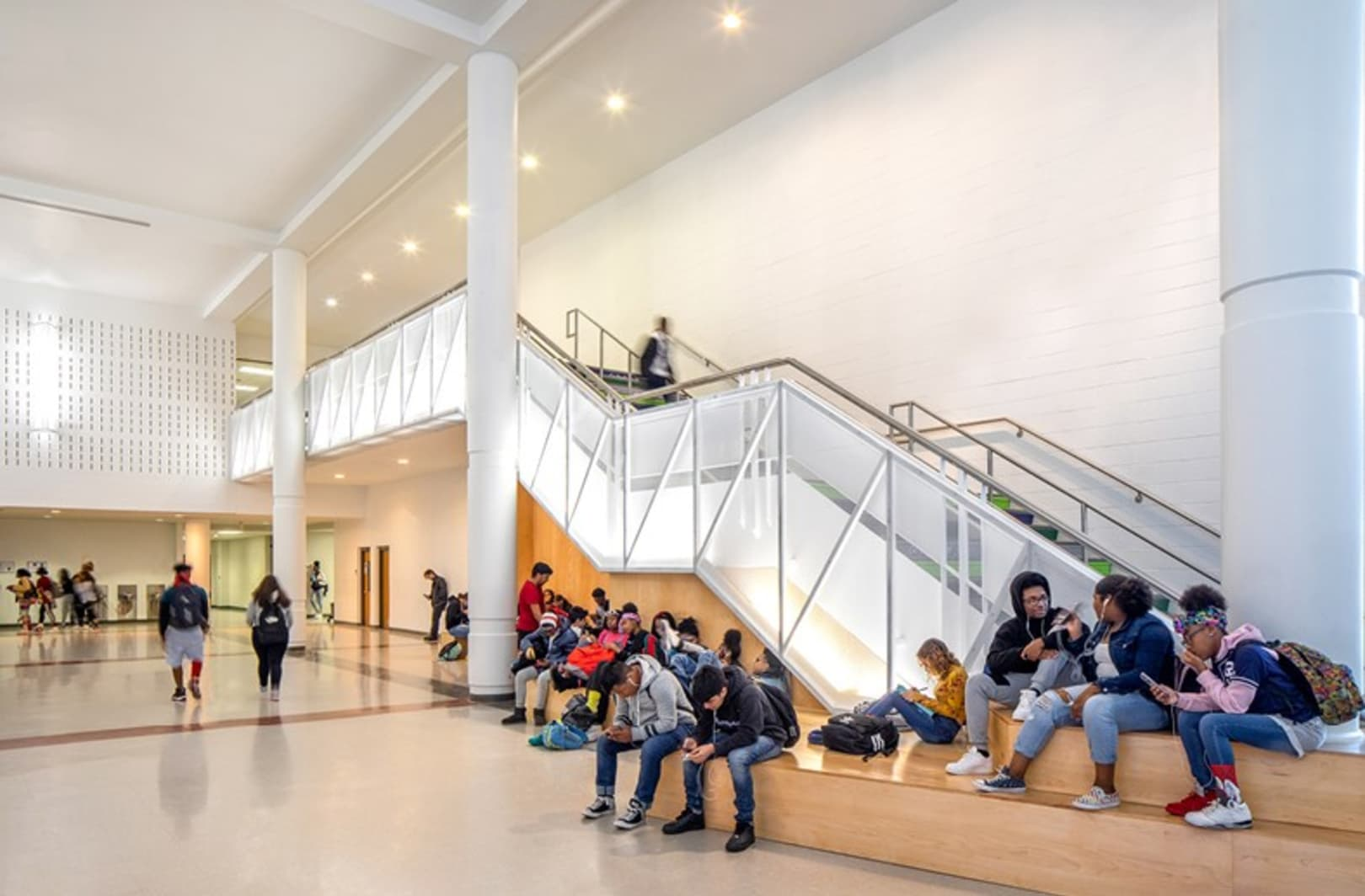Southeast Raleigh Magnet High School Great Hall Renovation
