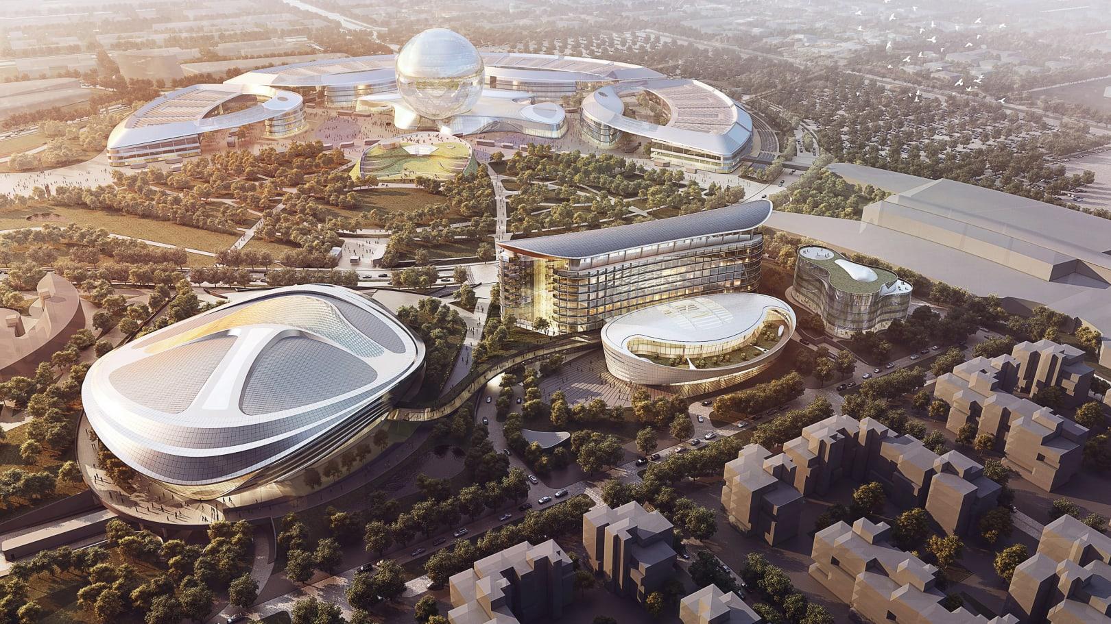 Astana overall expo site