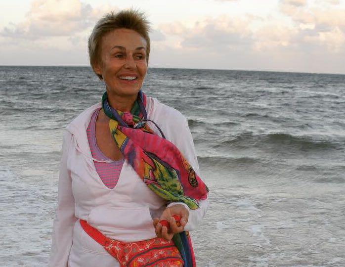 64-летняя Наталья Андрейченко приняла участие в мировом челлендже