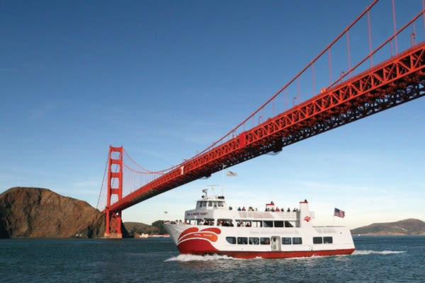 Red and White Fleet Bay Cruise