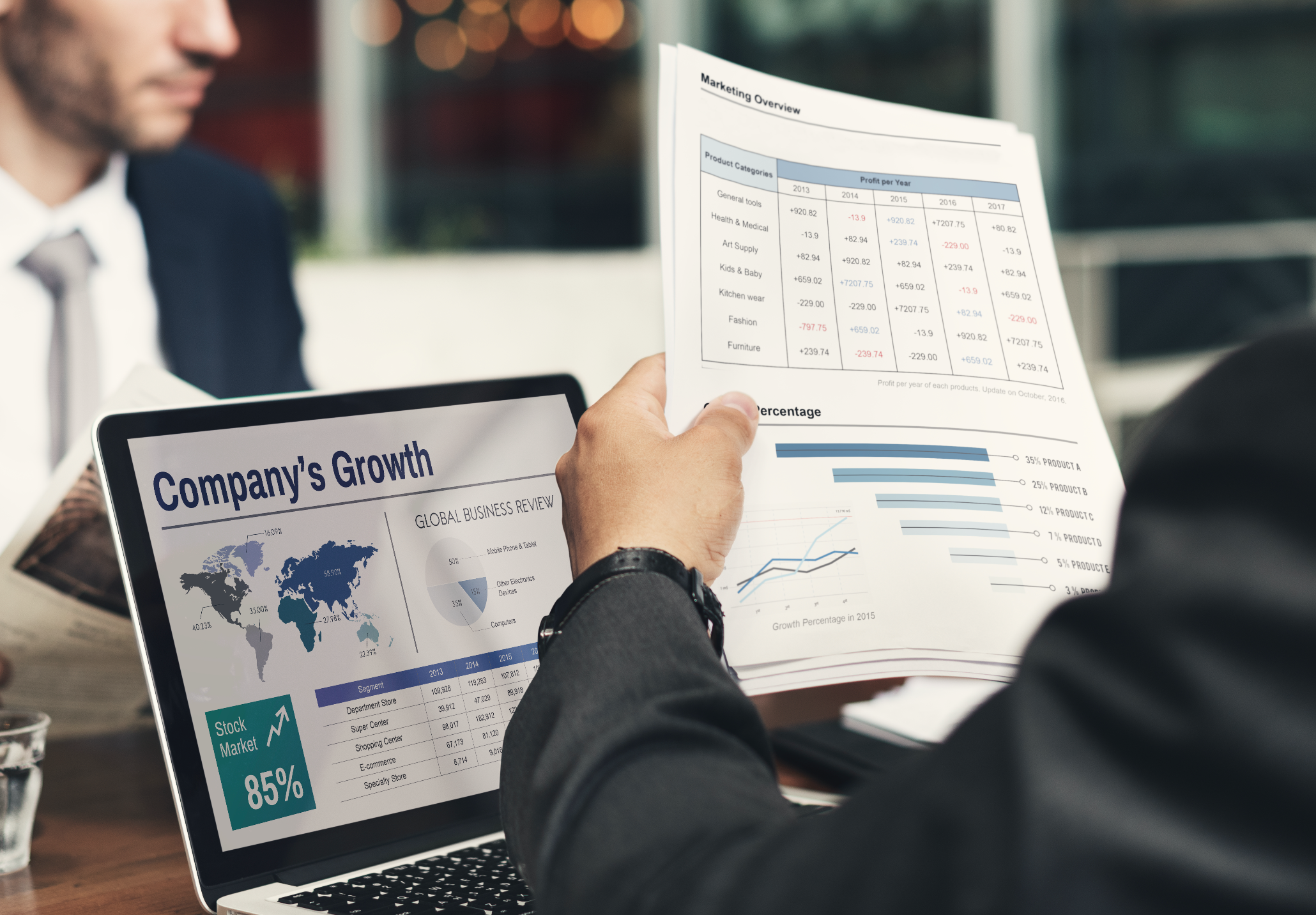 Showing your business on a global scale means growth