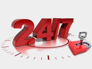 24-hour locksmith services