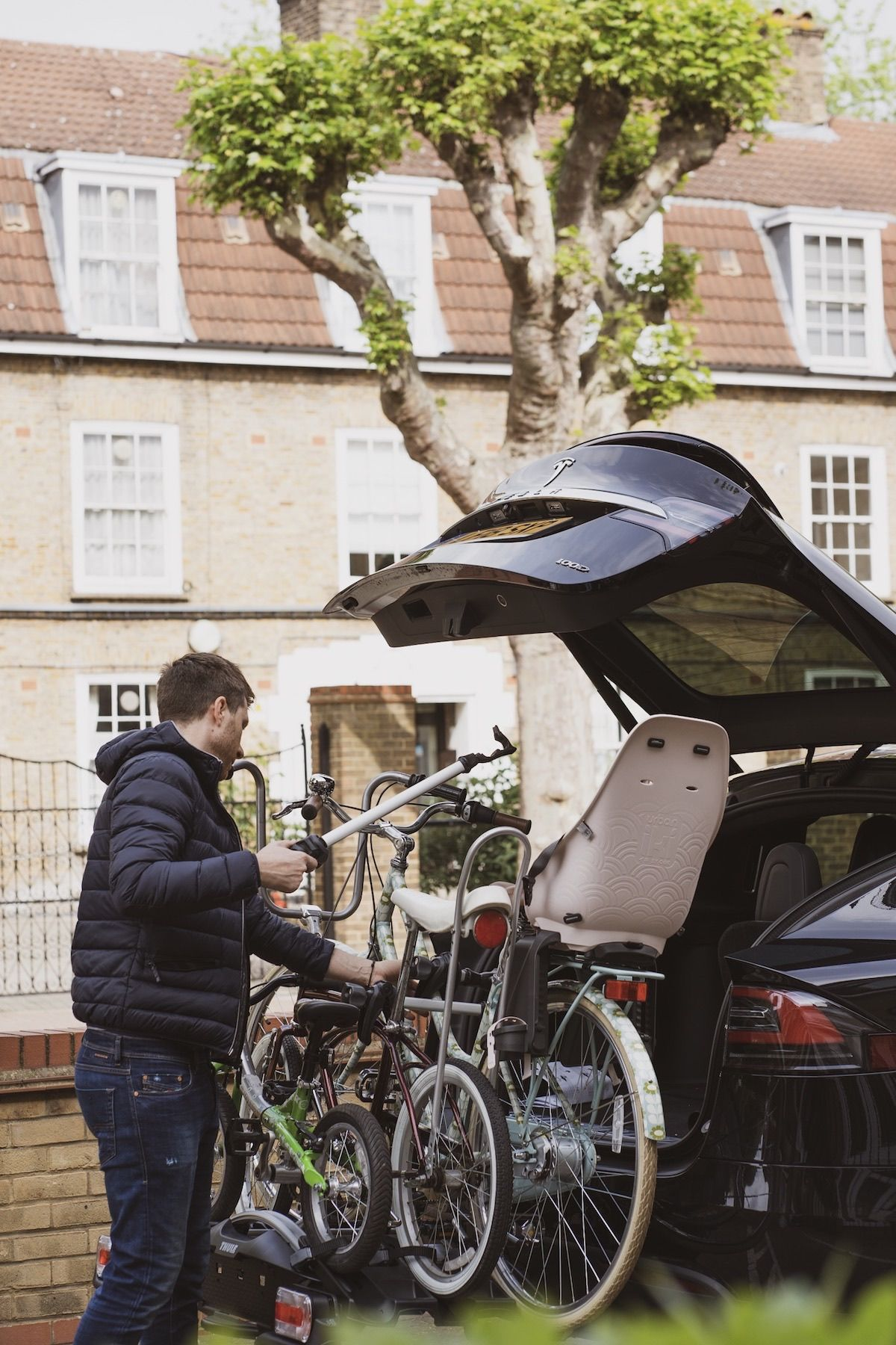 Thule did it again - THE dream bike rack for families