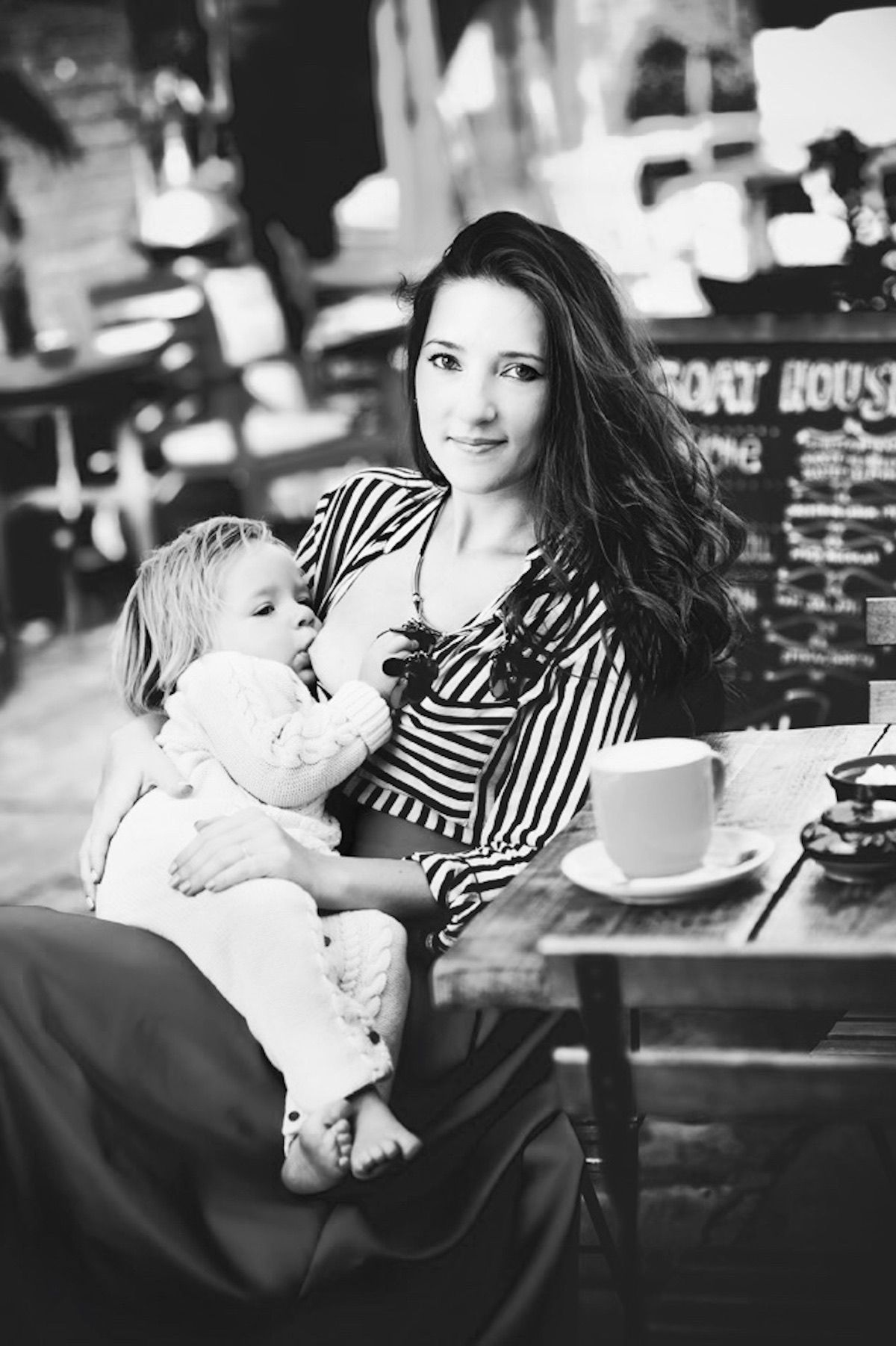 FIVE things I've learned about the nursing mother of my child