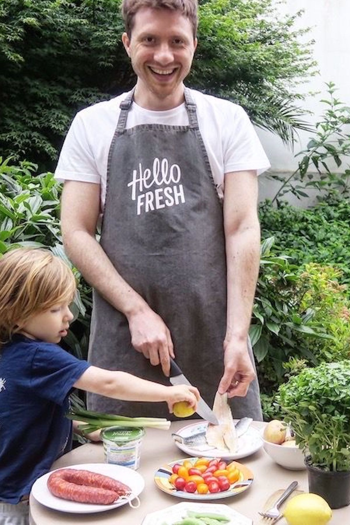 Dads in the Kitchen - the Hello Fresh Flavour Generator