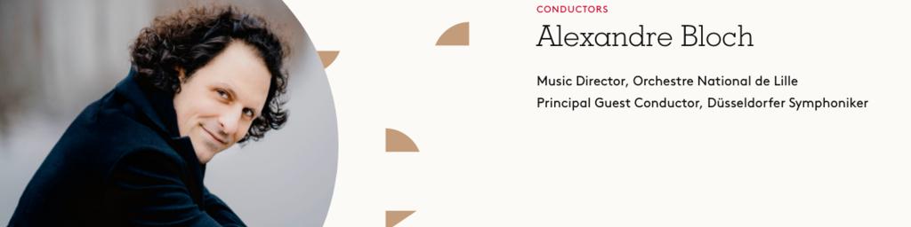 Alexandre Bloch, Conductor