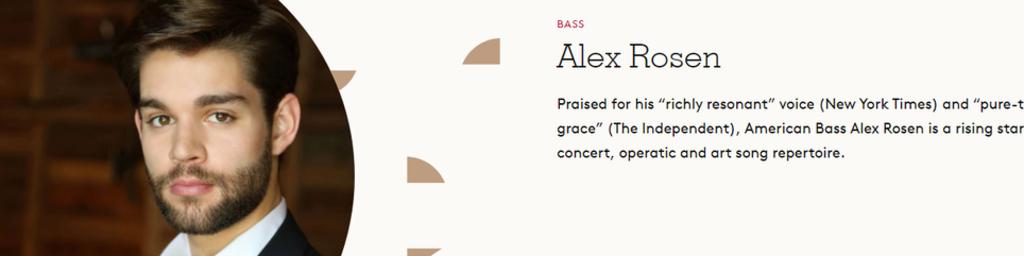 Alex Rosen, Bass