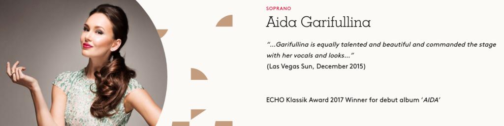Aida Garifullina, Soprano