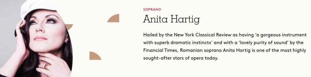 Anita Hartig, Soprano