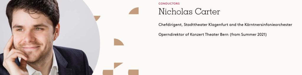 Nicholas Carter, Dirigat