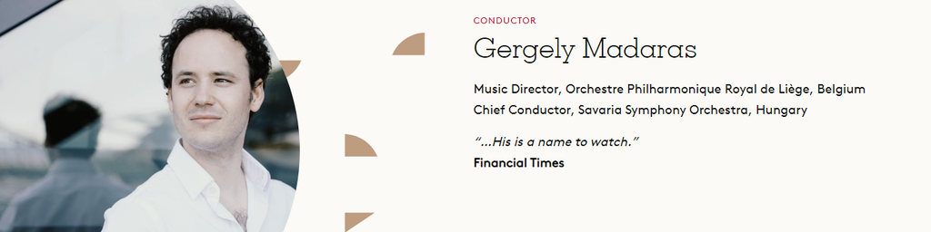 Gergely Madaras, Direction d'orchestre