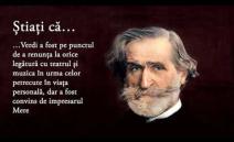 Curiozitatea din această săptămână ne invită într-o călătorie muzicală prin universul compozitorului de Giuseppe Verdi și a uneia dintre capodoperele sale – ...