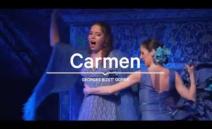 """G. Bizet' ooper """"Carmen"""" Vanemuise teatris"""