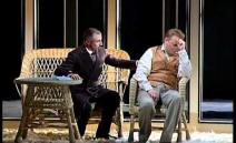 Short scene from Opera La traviata.SNG Opera in balet Ljubljana