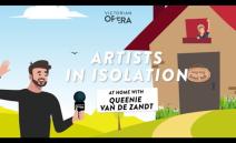 Artists in Isolation: Queenie van de Zandt