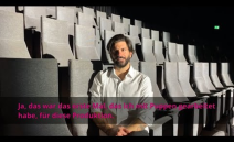 """Mitten in den Endproben zu """"L'Orfeo"""" haben wir mit Giuseppe Spota, dem Direktor der MiR Dance Company Gelsenkirchen gesprochen. Er ist künstlerischer Leiter ..."""