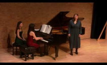 Oxford Lieder Young Artist Platform winners  Siân Dicker (soprano) & Krystal Tunnicliffe (piano). Hexenlied (Mendelssohn), Gadkiy utyonok - The Ugly Duckling...