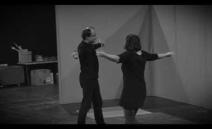 Video ze zkoušky k nadcházející inscenaci Don Hrabal.