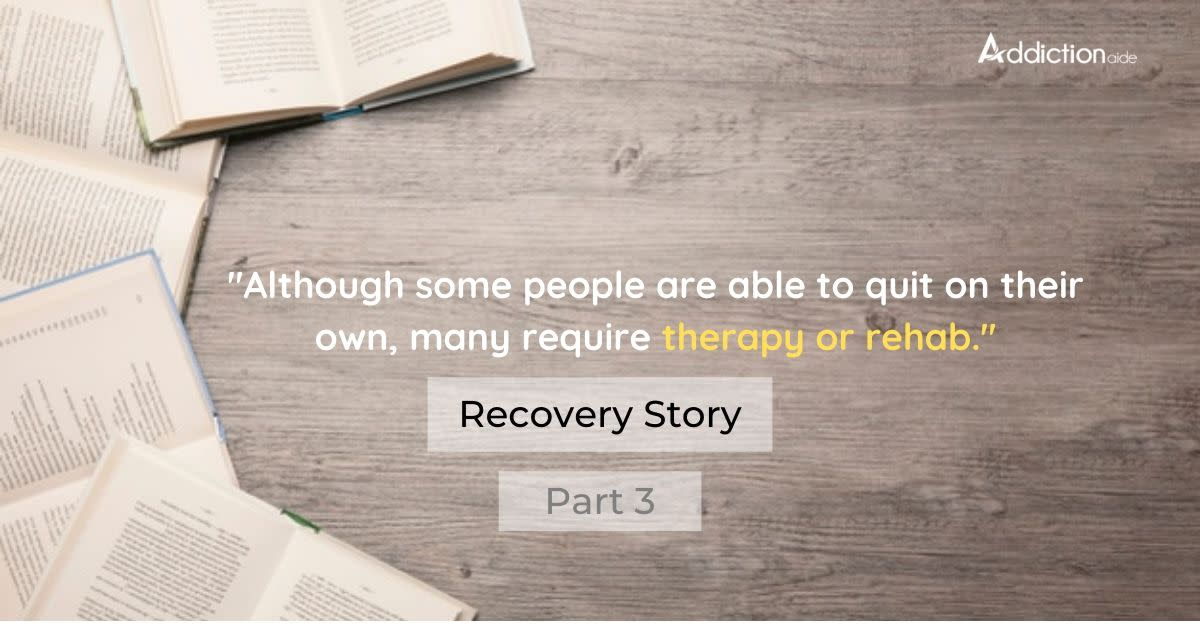 Recovery Story – Lynne Huysamen (Part 3)