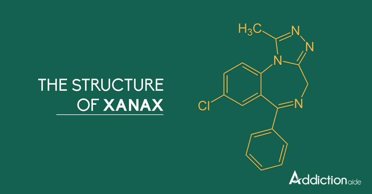 Xanax Structure