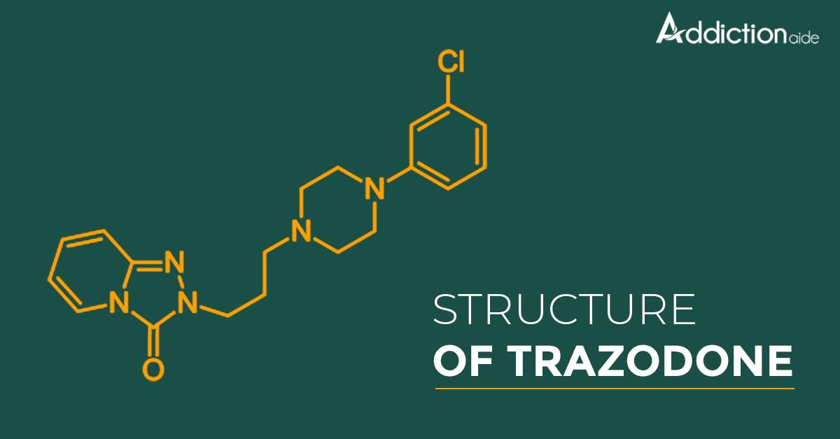 Structure of Trazodone