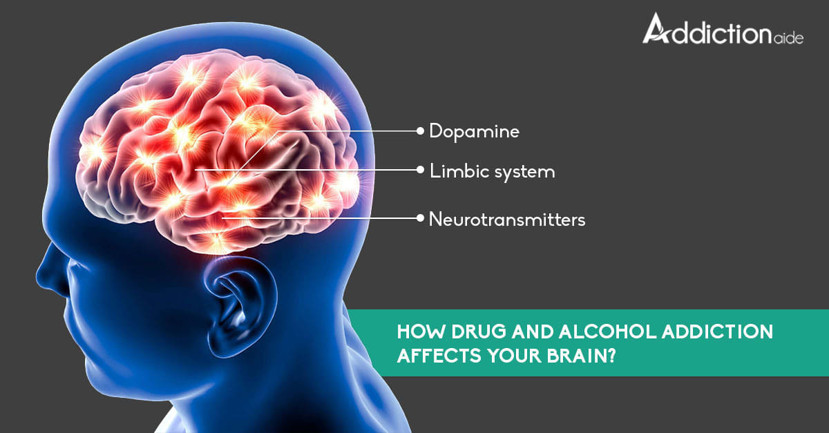 How drug and alcohol addiction affects your brain