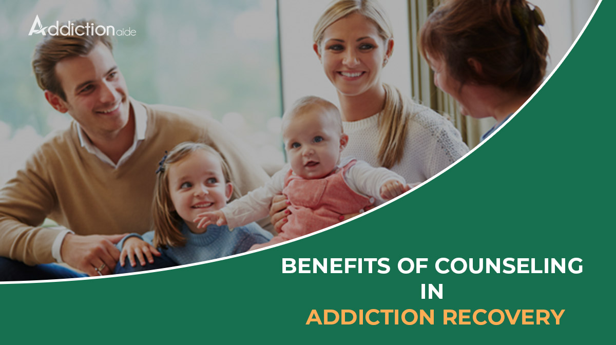 The benefits of counseling in addiction recovery