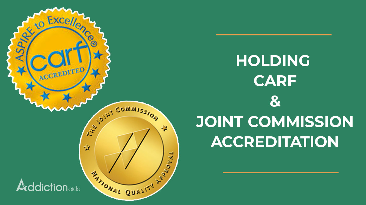 Holding CARF Accreditation