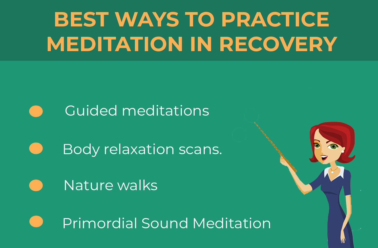 best way to practice meditation in recovery