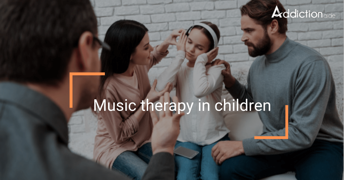 music therapy in children