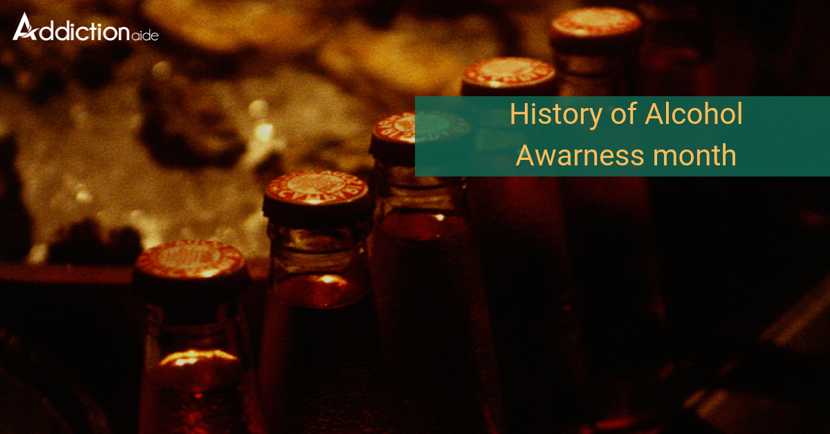 History of Alcohol awareness Month