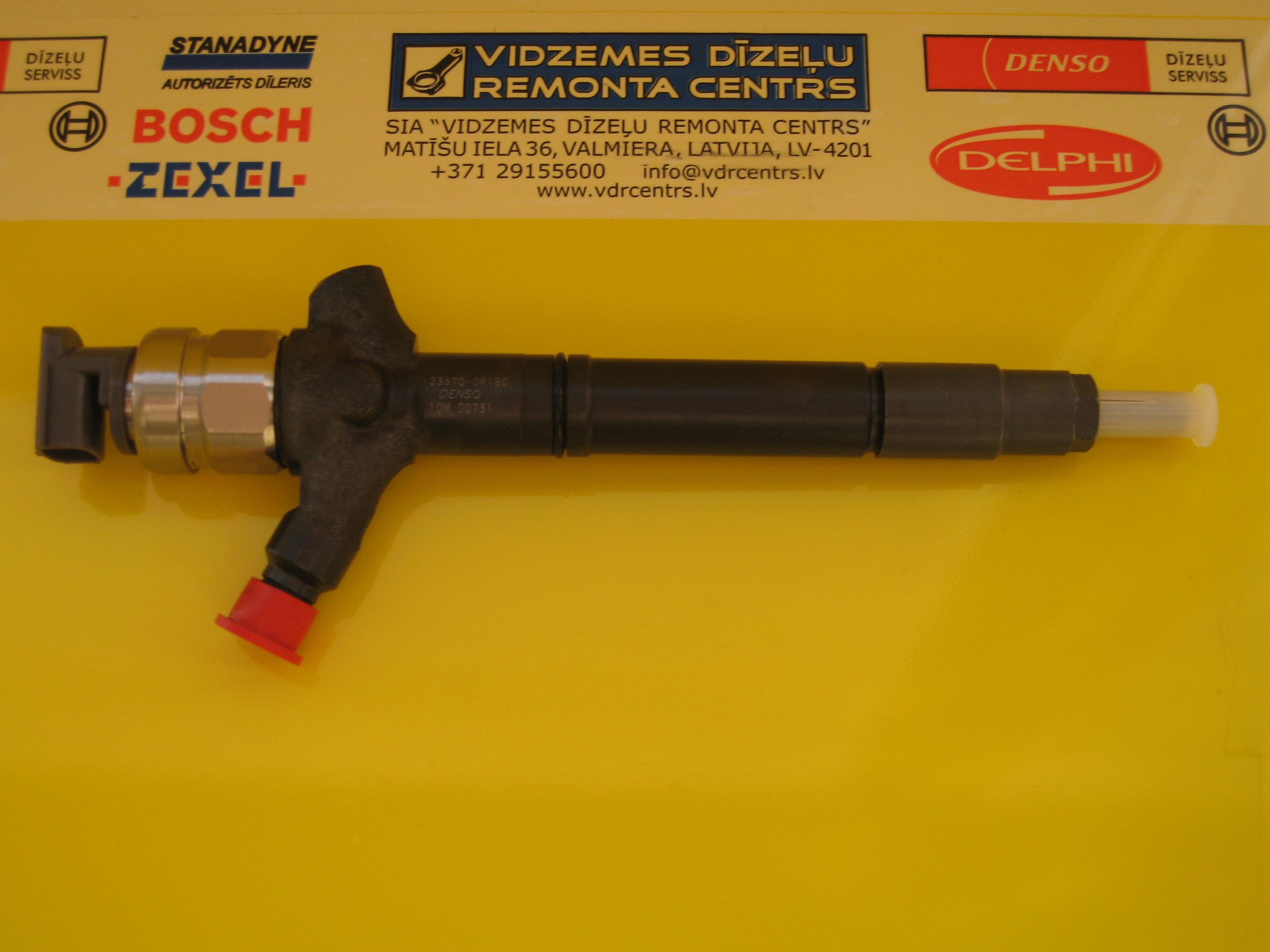 VDR Centrs lv - Injectors DENSO