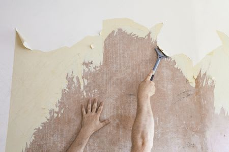 Zonum Painting - Photo of Wallpaper Removal