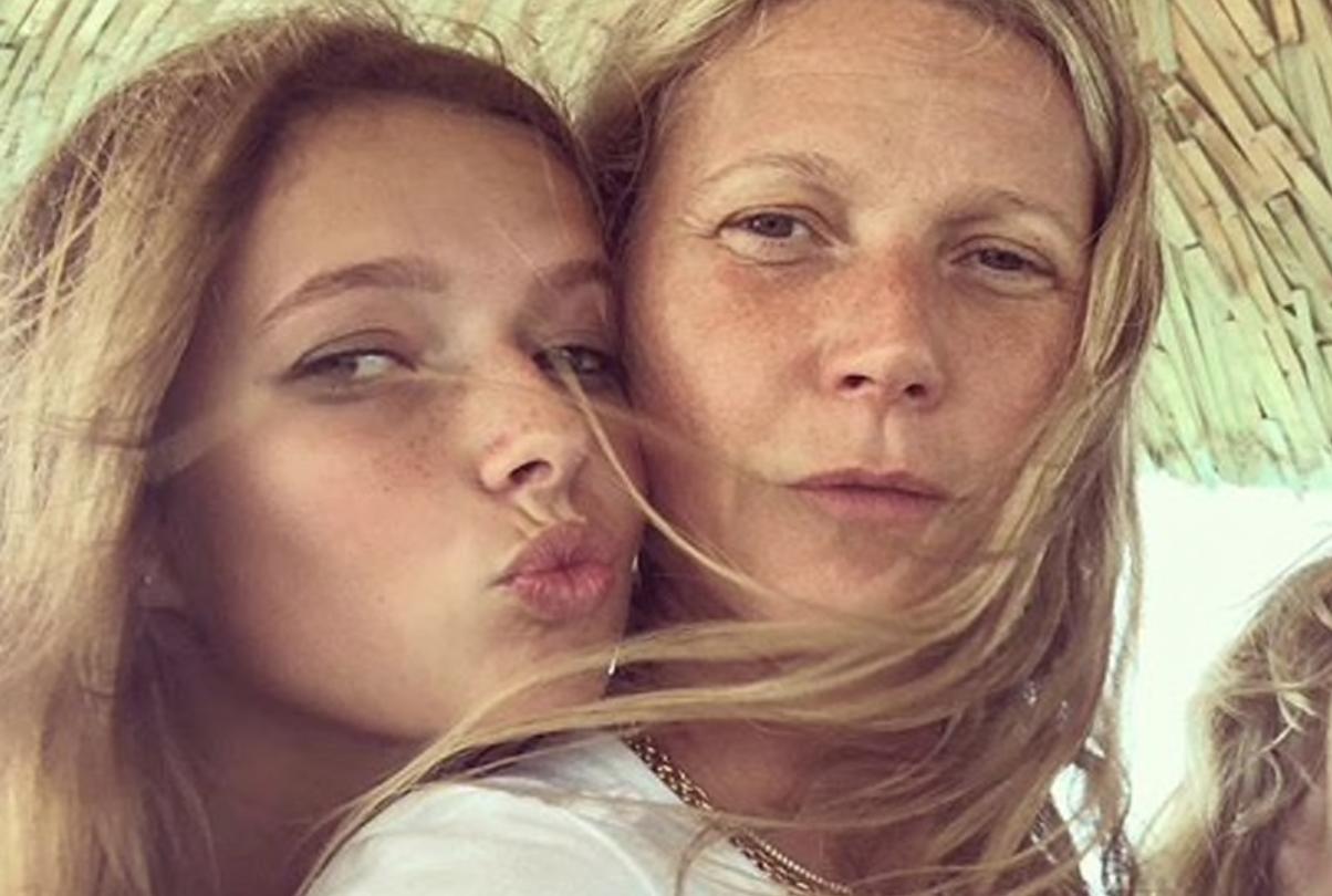 Как сейчас выглядит 15-летняя дочь Гвинет Пэлтроу? Она как две капли похожа на маму!