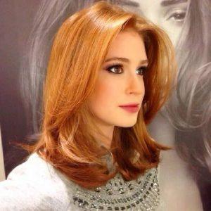 cabelo ruivo de Marina Ruy Barbosa