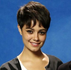 corte de cabelo curto da atriz Sophie Charlotte