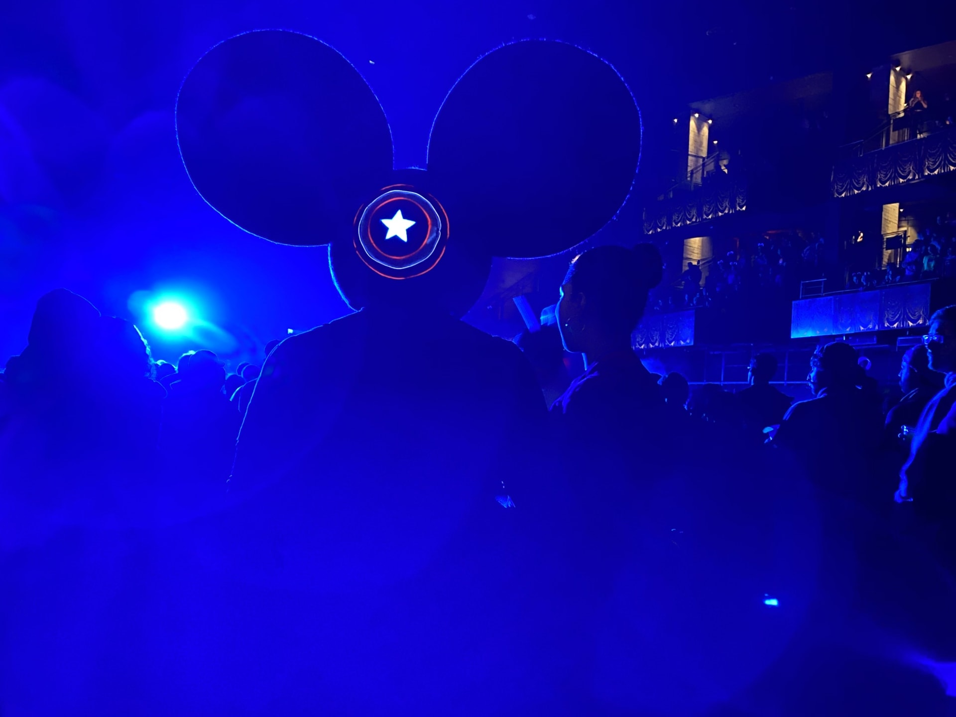 deadmau5 captain america cosplay