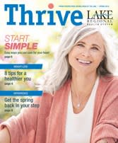 Spring 2019 Thrive Issue cover