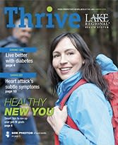 Winter 2018 Thrive magazine